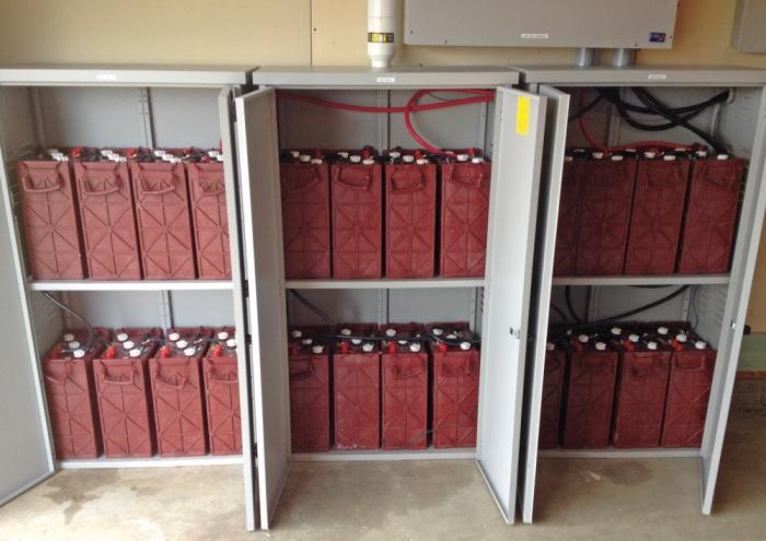 Baterías para uso en proyectos solares