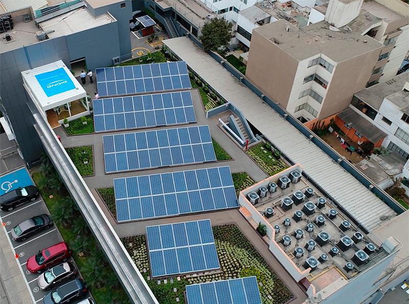 Energía solar, uso colectivo en consorcios de viviendas y parques industriales