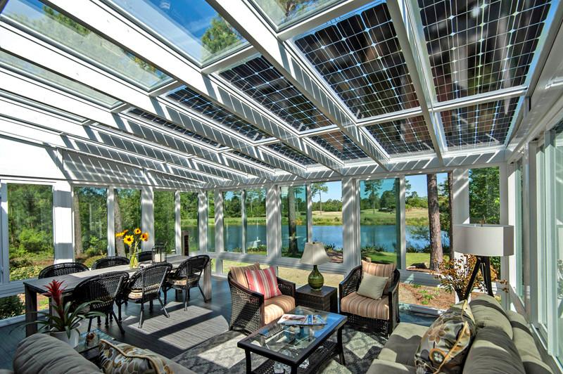 Paneles solares para arquitectos creativos