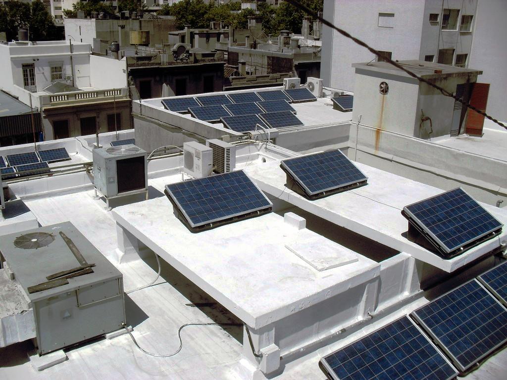 Edificio con energia solar - Montevideo - uruguay